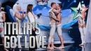 Les Farfadais la proposta di matrimonio è in diretta Italia's Got Talent 2015