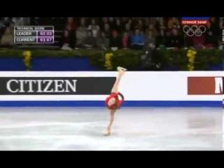 Фигурное катание  Произвольная программа  Женщины  Юлия Липницкая взяла золото на чемпионате Европы