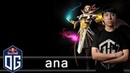 OG.ana Invoker Gameplay - Unranked Match - OG Dota 2.