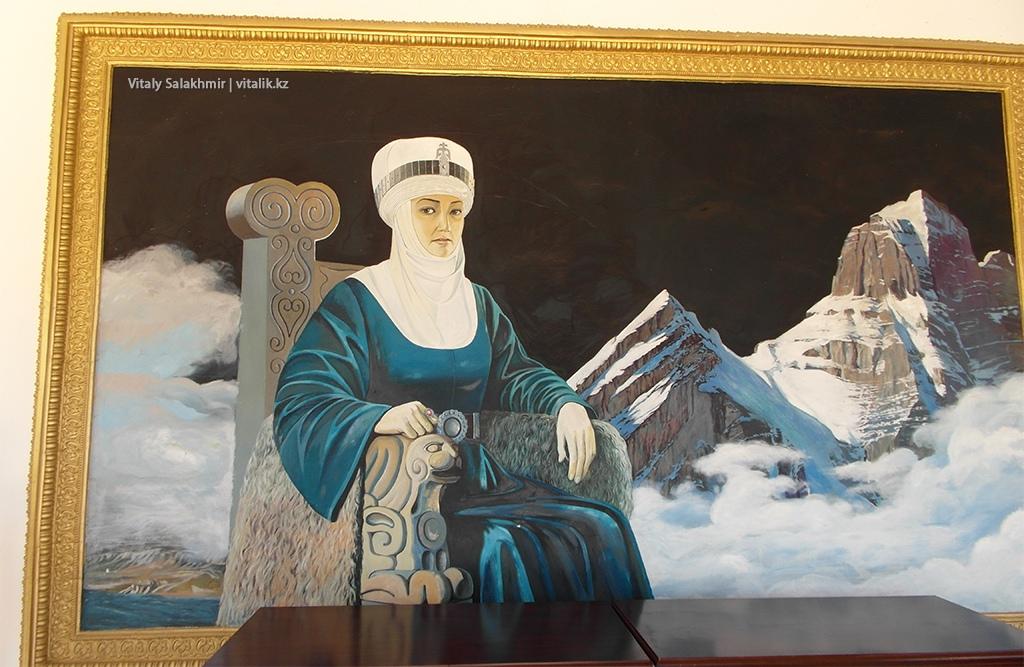 Женщина на картине, Рух Ордо