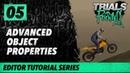 Trials Rising Editor Tutorial Series 05 Advanced Object Properties