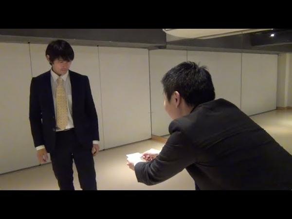 スーツでビジネスQTEアクション01:願羽マサルさん 東京セーフガード
