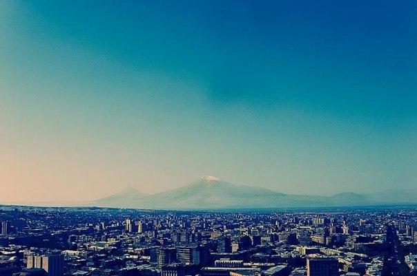 Гора Арарат, Турция и Армения