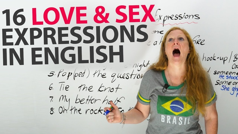♥ ♥ ♥ 16 Common English LOVE Expressions ♥ ♥ ♥
