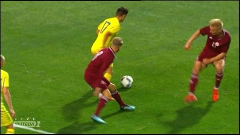 Мариан ШВЕД! Супергол в ворота Латвии! SHVED SOLO GOLAZO (Ukraine vs Latvia)