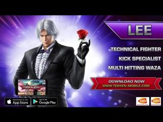 Tekken Mobile – iOS & Android – Ли Чаолан (трейлер обновления 1.1)