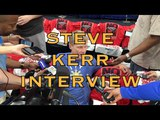 Entire STEVE KERR interview from New Orleans, day before G3