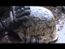 Нашли советских солдат в болоте с немецким оружием
