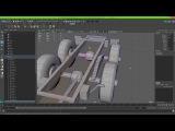 рессорнаязависимая подвеска транспорта в unreal engine 4