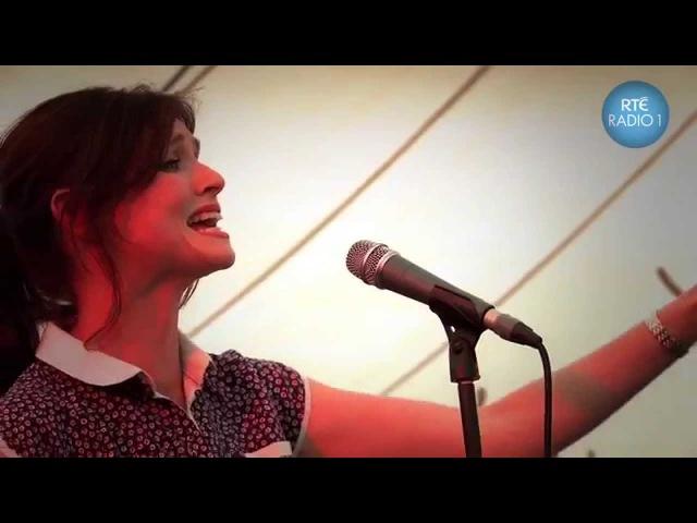 Sophie Ellis-Bextor sings Jolene Murder On The Dance Floor live in the Radio 1 tent!