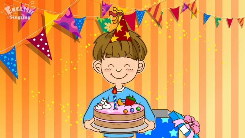 Theme 6. Happy Birthday. - ESL Song Story