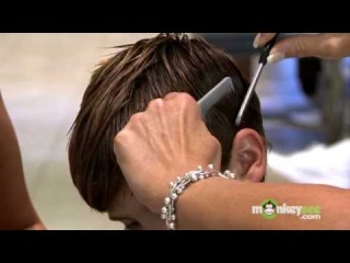 Hair Care - Cutting Boys' Bangs and Removing Weight