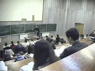 Люди в черном на лекции Иванова