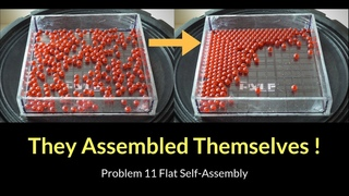 Self-Ordering Particles (IYPT 2019 Problem 11 Flat Self-Assembly)