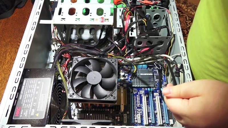Установка процессора AMD FX8370 сокет AM3