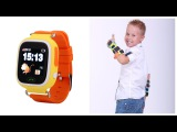 Детские часы с GPS трекером Smart Baby Watch Q100 обзор / Умные часы с телефоном