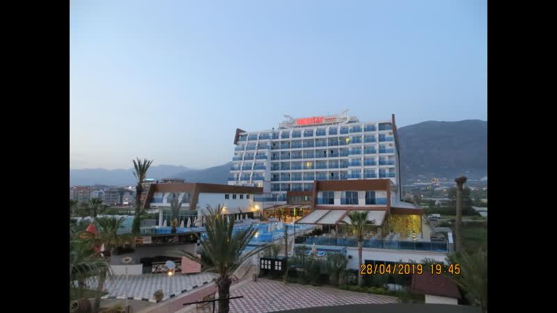 Вид нашего любимого отеля SUN STAR RESORT 5, Турция