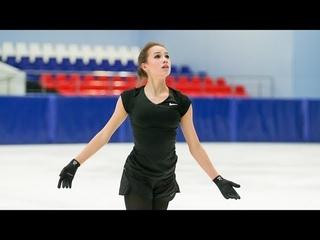 Alina Zagitova Short Контрольные прокаты 2018 9 8