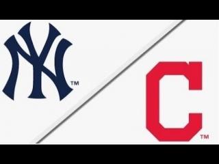 AL /  / NY Yankeees @ CLE Indians (1/4)