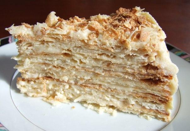 Торт наполеон песочный в домашних условиях рецепт