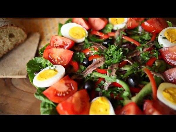 Recette pour faire une vraie salade niçoise