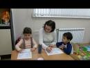 Изучение букв в мини-саду в СВЕТОЧ г.Тула