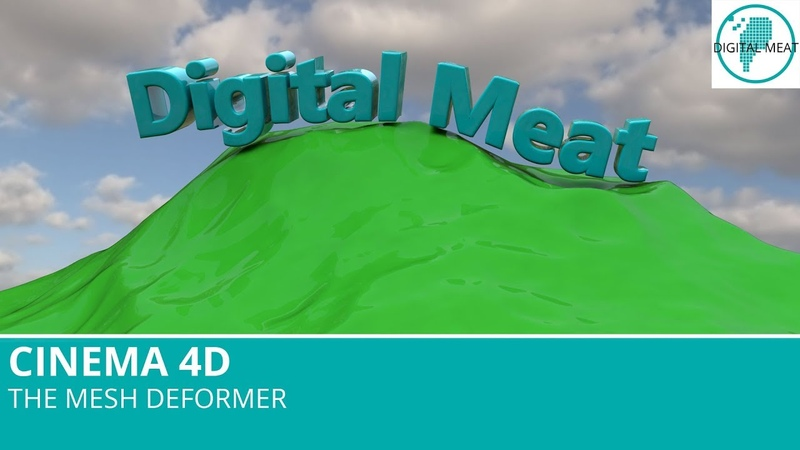 The Mesh Deformer In Cinema 4D