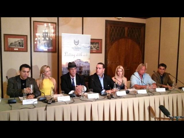 Пресс-конференция главных героев Черной Розы
