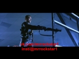 Терминатор 2 лучшая сцена Шварценеггер Миниган 1991Terminator 2 best scene Schwarzenegger Minigun 1991
