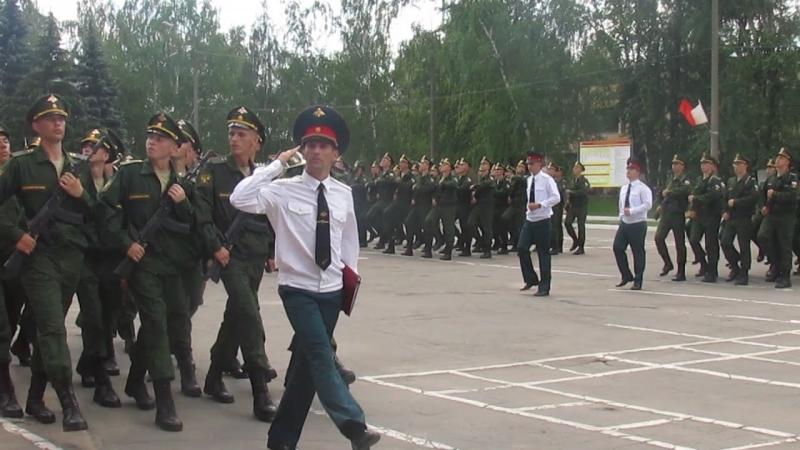 Присяга Семеновский полк.Проход перед трибуной 2.07.2016