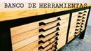 BANCO DE HERRAMIENTAS ESTILO INDUSTRIAL