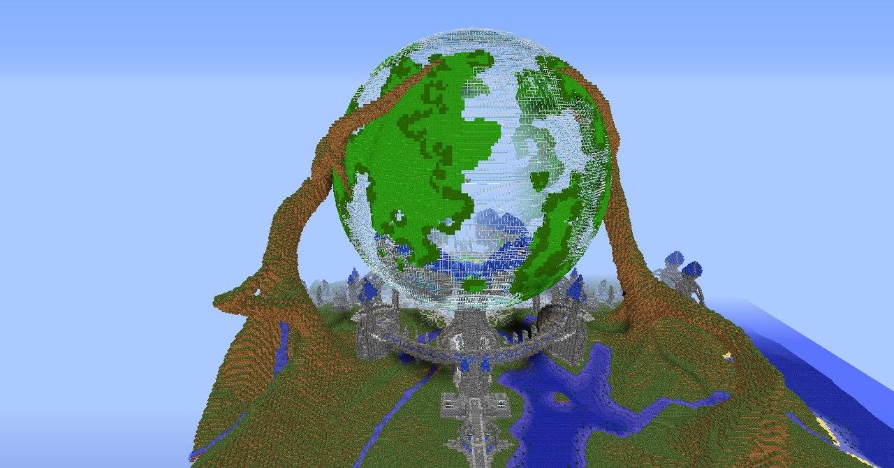 Скачать карту космос для Minecraft 1.5 2   VK
