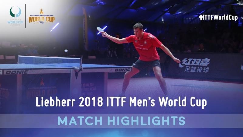 Vladimir Samsonov vs Wong Chun Ting I 2018 ITTF Mens World Cup Highlights (R16)