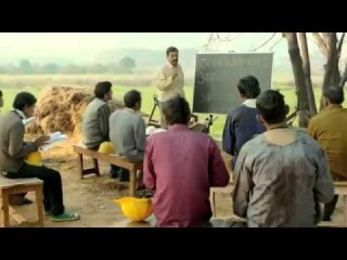 Shah Rukh Khan in Shiksha Ka Suraj - a music video on adult literacy