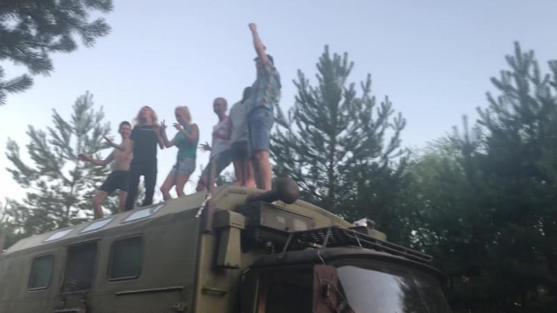 Беструсишки 11.08.2018г - Танцы на крыше