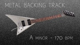 Hard Rock Metal Fast Guitar Backing Track A Minor