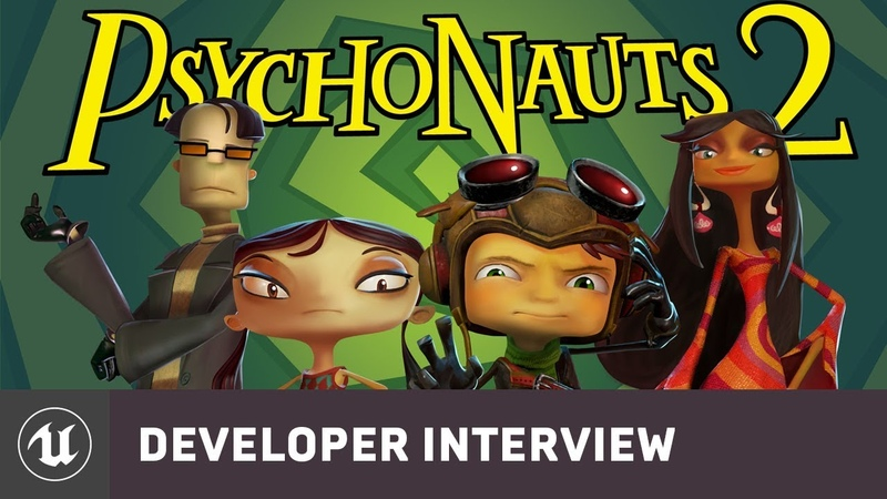 Psychonauts 2 by Double Fine Productions | E3 2019 Developer Interview | Unreal Engine