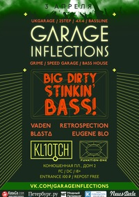 03.04.15 Garage Inflections @ Kl10tch