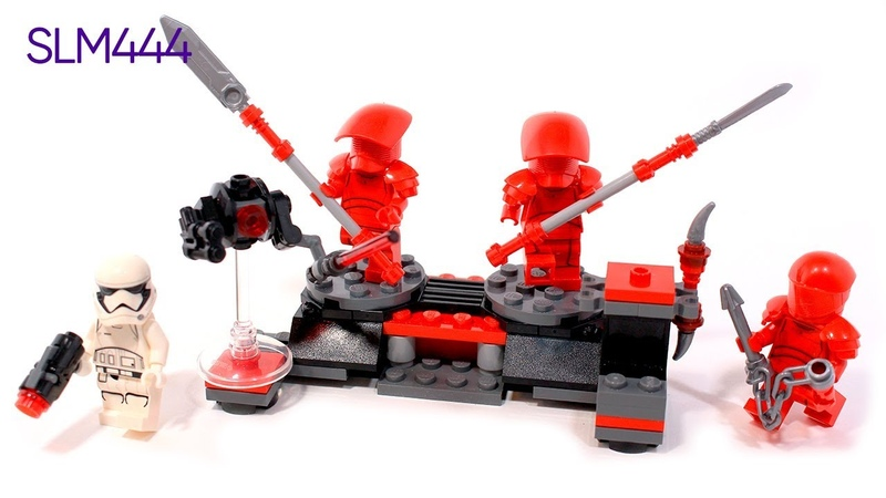LEGO Star Wars 75225 Elite Praetorian Guard Battle Pack Review | ОБЗОР