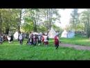 Историческая реконсирукция. Сражение новгородской дружины с тевтонскими рыцарями