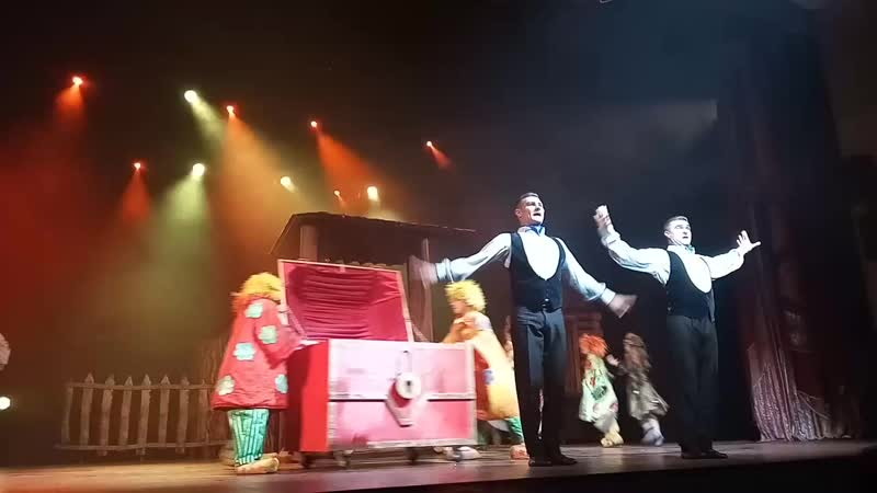 Театр ,, Айвенго - Новые приключения Бабы Яги.