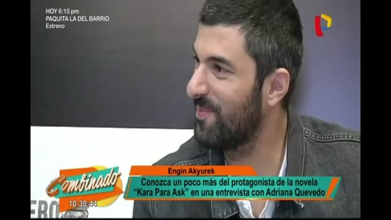 New Interview for Latina Television / Ell actor Engin Akyürek habló de todo en entrevista exclusiva
