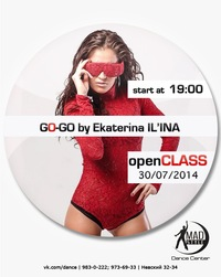 MADSTYLE PRESENT: GO-GO OPEN CLASS
