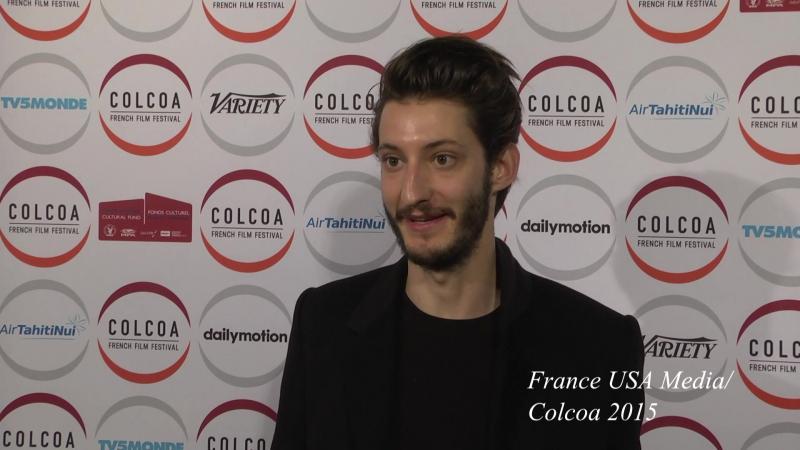Pierre Niney in COLCOA
