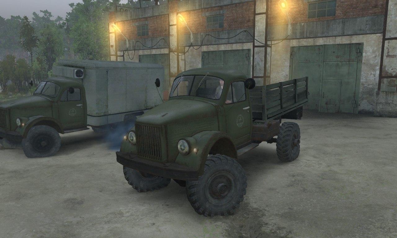 Газ-63 и Газ-63м для 03.03.16 для Spintires - Скриншот 3