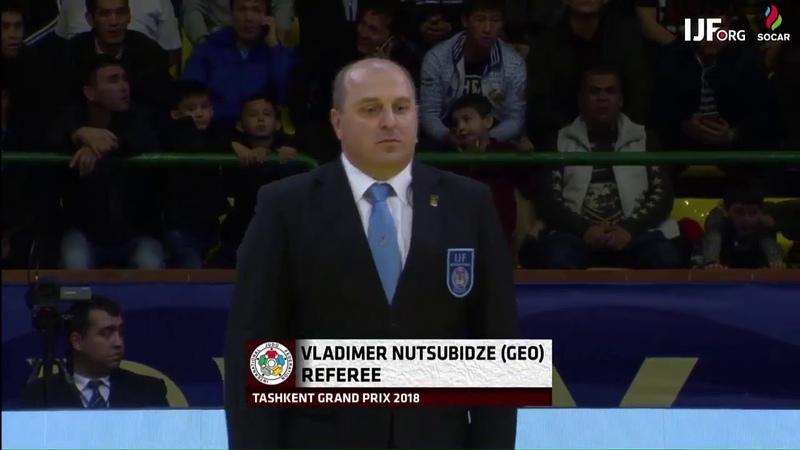 Mammadali Mehdiyev AZE Krisztian Toth HUN 0:1 -90kg JudoTashkent2018 Final