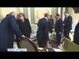 Конфуз в Минске. Лукашенко не дал сесть Путину на стул царской семью