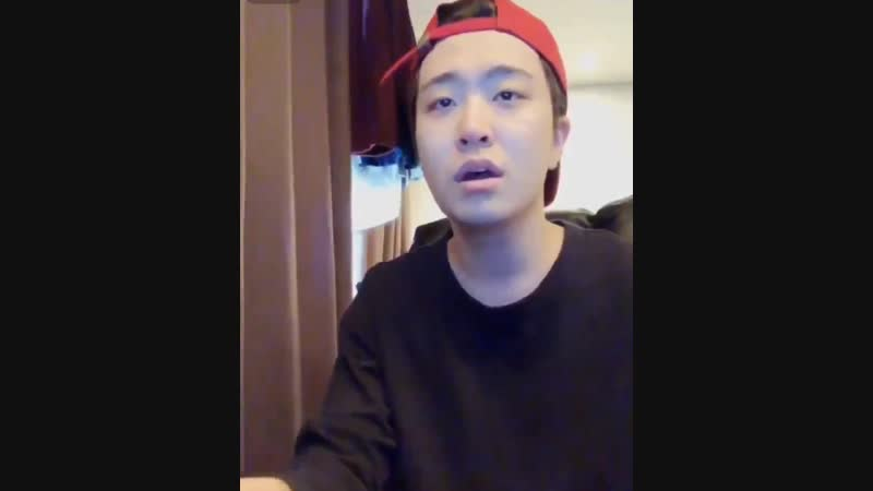 [CUT] 190115 Ёнджэ - Shape of You Youngjae @ Vlive️