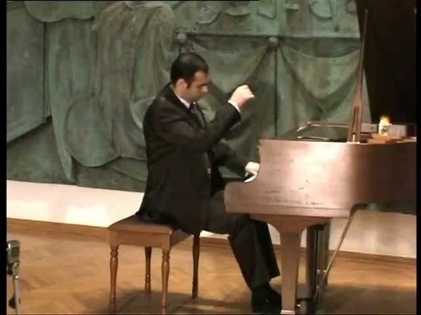 Composer Mamed Guseynov Five Piano Pieces