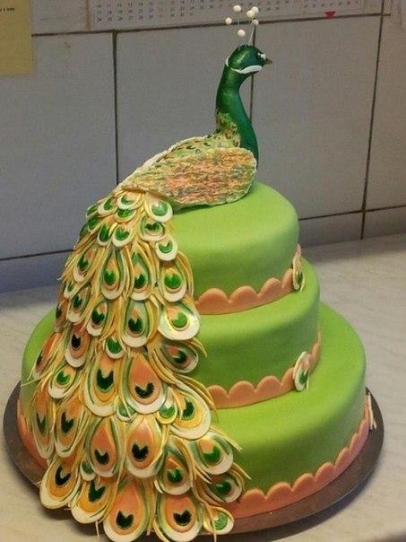 Как самой украсить праздничный торт фото